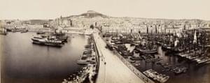 19th-century travel: The quay at Naples, c.  1868