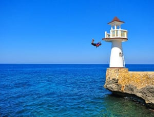 Been there photo comp Nov: Boy jumping in Jamaica
