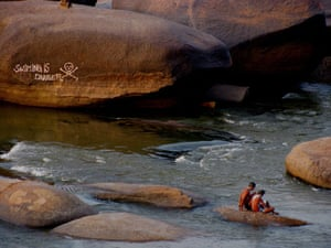 Been there photo comp: Swimmers in India