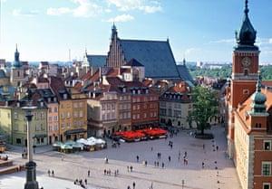 Decade destinations: Castle Square, Warsaw, Poland
