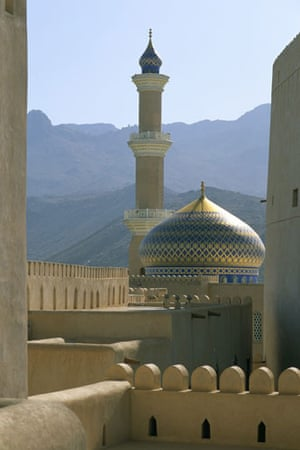 Decade destinations: View of Mosque From Nizwa Fort, Oman