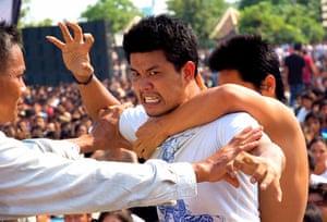 Thailand Tattoos: Thailand's tattoo honouring festival