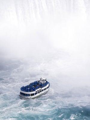 Earthbound images: Niagara Falls, US