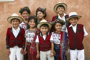 Earthbound images: Traditional costumes of Nebaj, western highlands, Guatemala