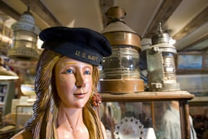 Earthbound images: A nautical antique store in downtown Portland, Maine, US