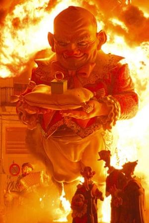 Earthbound: Fiery celebration, Valencia, Spain
