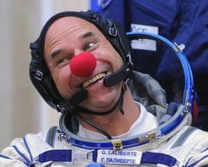 Space tourism: Canadian space tourist Guy Laliberte