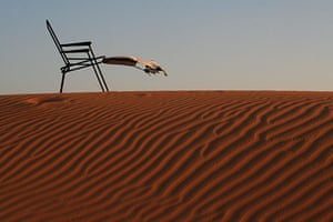 Been there comp March: Deck chair in Dubai