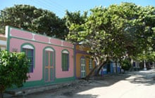 Colourful houses in Gran Roque