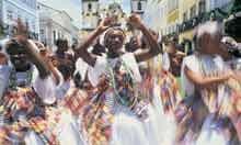 Dancers in Pelourinho, Salvador, Brazil