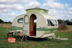 My Cool Caravan: Mostard caravan