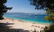 Rat Beach, Bol, Brac island