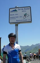 Kevin Rushby at the Col du Soulor