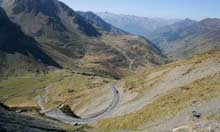 Col du Tourmalet in the French Pyrenees