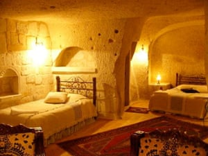 Posh hostels: Traveller's Cave, Goreme, Turkey