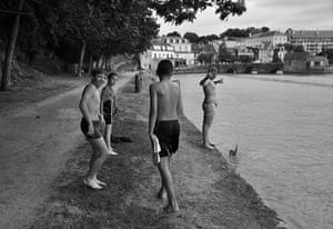 August Been there comp: Kids swimming in Brittany