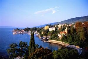 Motor bike road trip: Opatija Riviera in Croatia