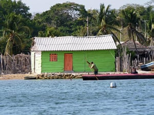 Been there: green: Green: Islas del Rosario, Colombia