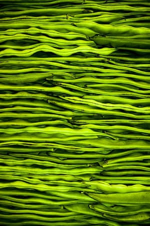 Been there: green: Green: runner beans