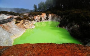 Been there: green: Green: Wai-O-tapu, New Zealand