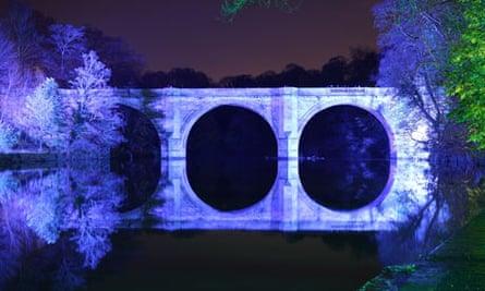 Prebends Bridge, Durham, Festival of Light, 2009