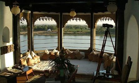Ahilya Fort hotel in Madhya Pradesh, India