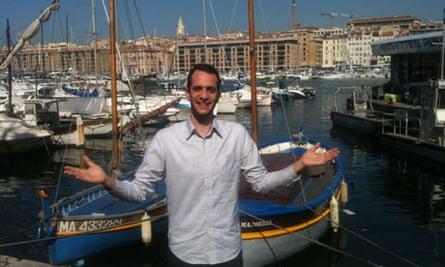 Benji Lanyado in Marseille