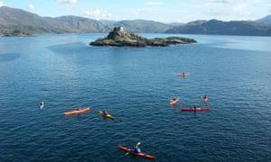 Sea Kayaking in Scotland