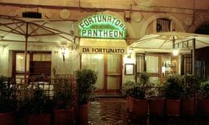 Fortunato al Pantheon