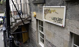 Under The Stairs, Edinburgh