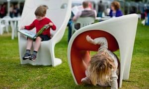 Charlotte Square Gardens, Edinburgh book festival