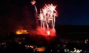 Virgin Money Fireworks Concert, Edinburgh