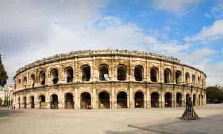 Nimes arena, France