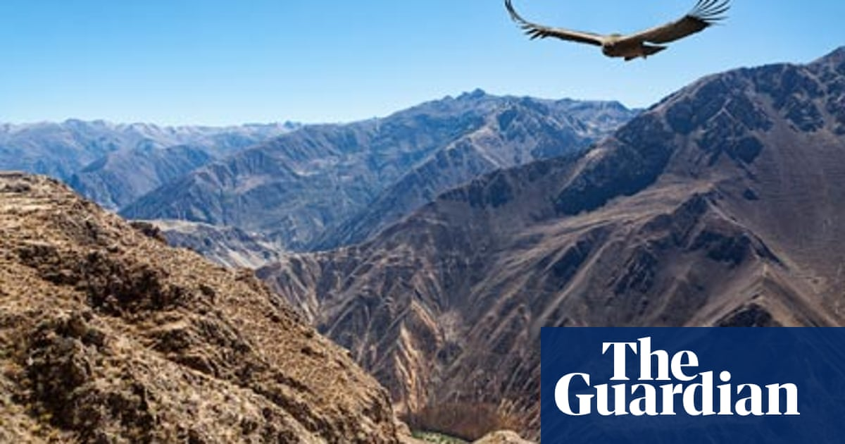 My travels: Michael Jacobs travels the Andes from top to