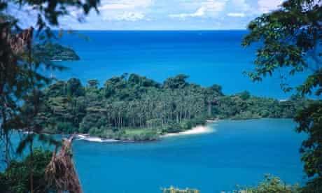 An uninhabited island off Koh Chang, Thailand