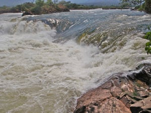 congo: rapids on the Luvua River