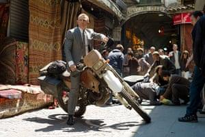 Bond countries: Daniel Craig in a scene from Skyfall, Istanbul, Turkey