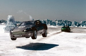 Bond countries: Die Another Day James Bond scene in Iceland