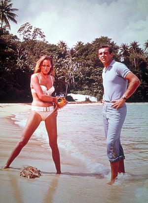 Bond countries: Dr No James Bond beach scene in Jamaica