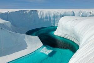 Chasing Ice: Birthday Canyon, Greenland ice sheet