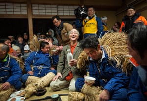 Dosojin Fire Festival: The Dosojin Fire Festival, Nozawa Onsen, Japan