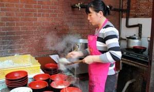 Street food at Jing'an Villas, SHanghai