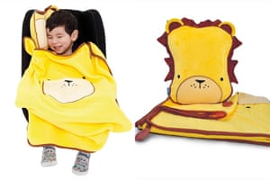 Christmas gifts: Snoozihedz travel pillow and blanket
