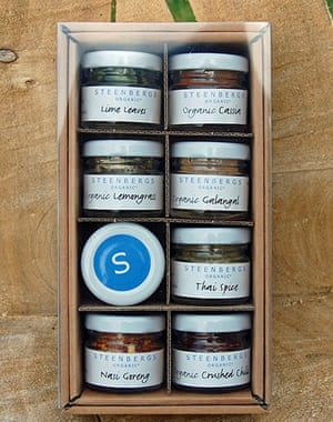 Christmas gifts: Steenbergs spices