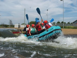 Christmas gifts: White water rafting in the UK