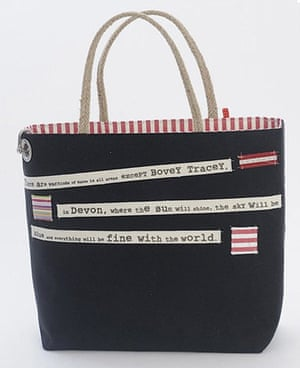 Xmas gifts: Shipping Forecast bag