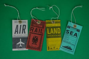 Gift guide: Herb Lester luggage tags