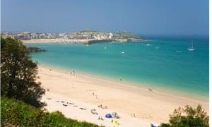 Porthminster beach, St Ives, Cornwall