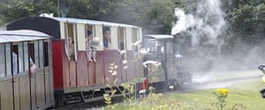 Lappa Valley Steam Railway, near Newquay, Cornwall