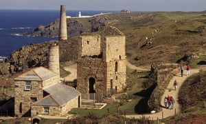 An engine house at Levant Mine, Cornwall